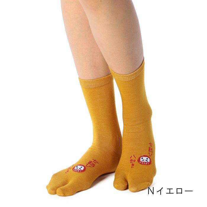 【足袋】ダルマ柄クルー