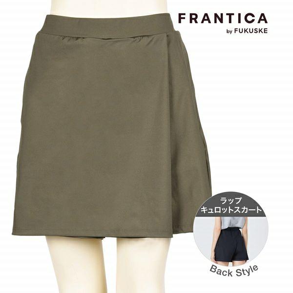 FRANTICA closet ラップ キュロットスカート
