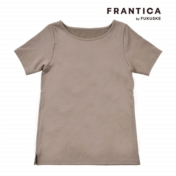 FRANTICA closet キレイ魅せ カップ付き 3分袖 シャツ