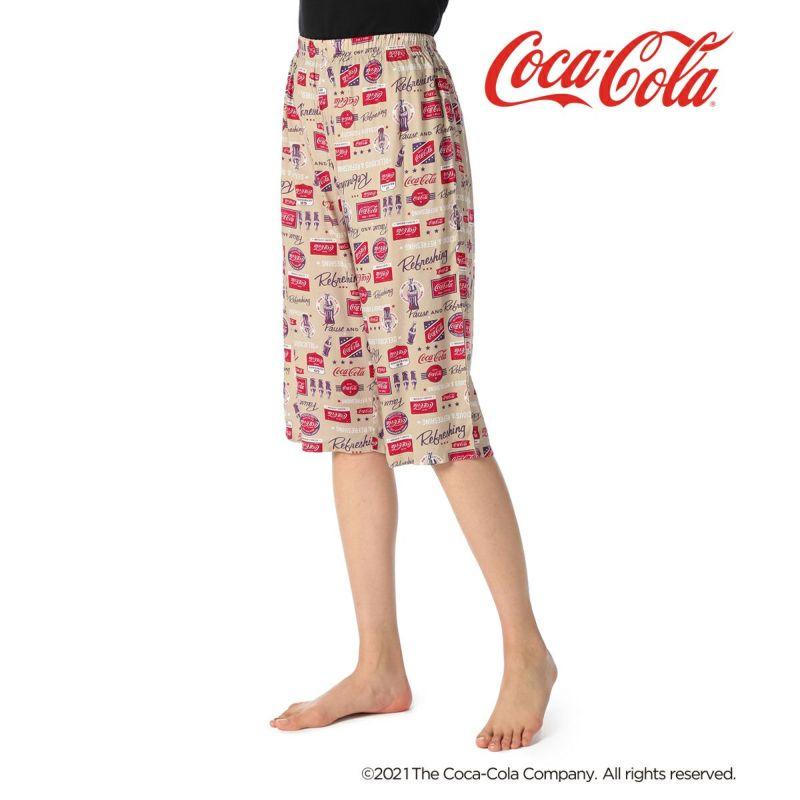 レディース「Coca-Colaコカ・コーラ」7分丈ステテコ