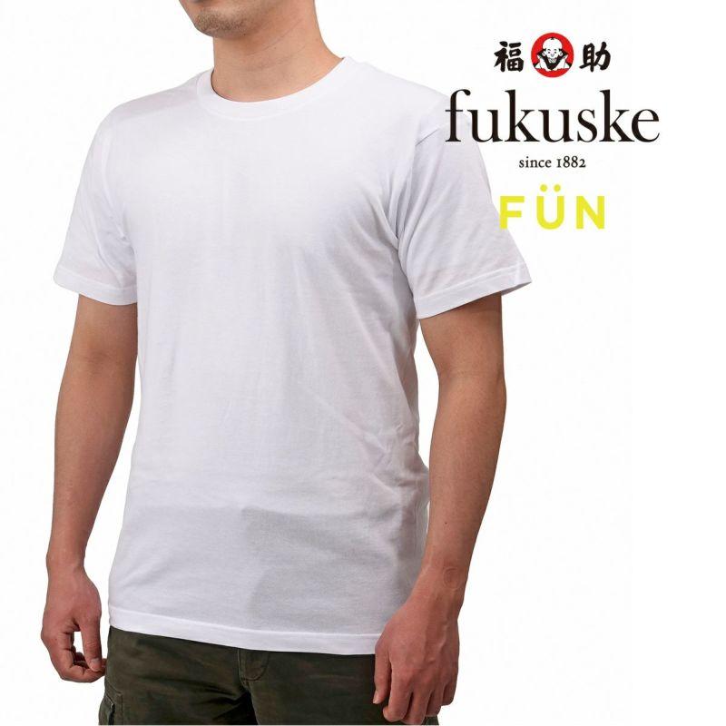 メンズfukuskeFUNクルーネックTシャツ