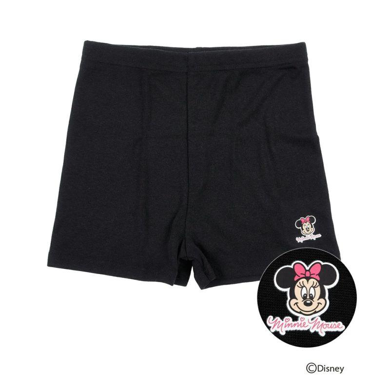 キッズ Disney (ディズニー) ミニーマウス マイクロミニ丈 スパッツ