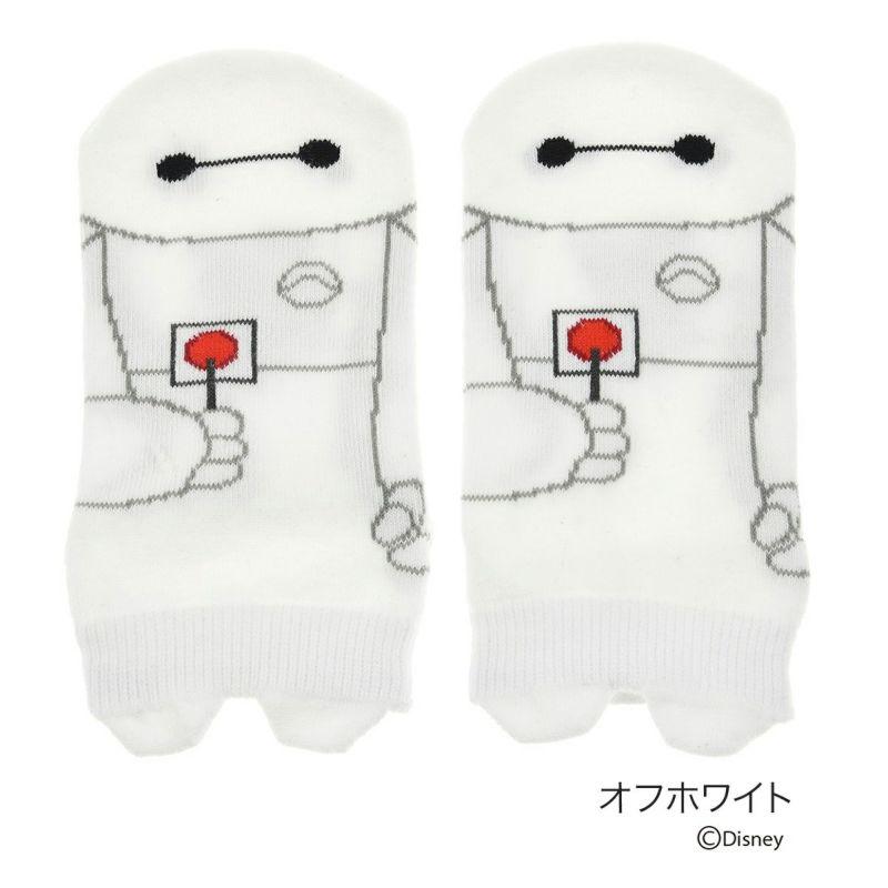 キッズDisney(ディズニー)ベイマックスパペットスニーカー丈ソックス