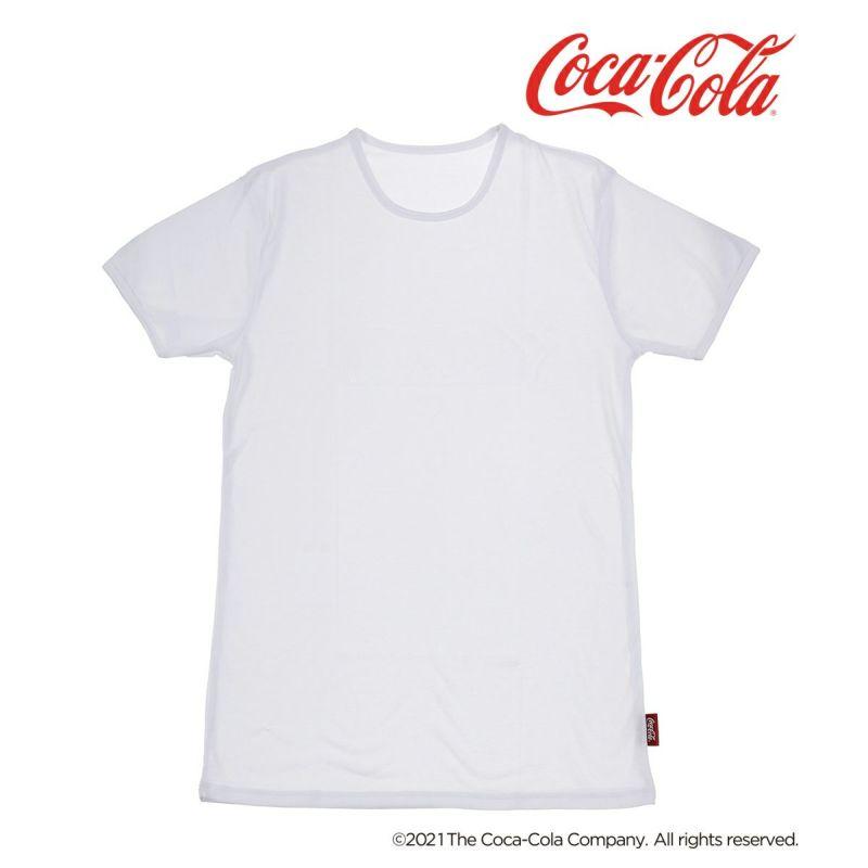 メンズ「Coca-Colaコカ・コーラ」2枚組クルーネックTシャツ